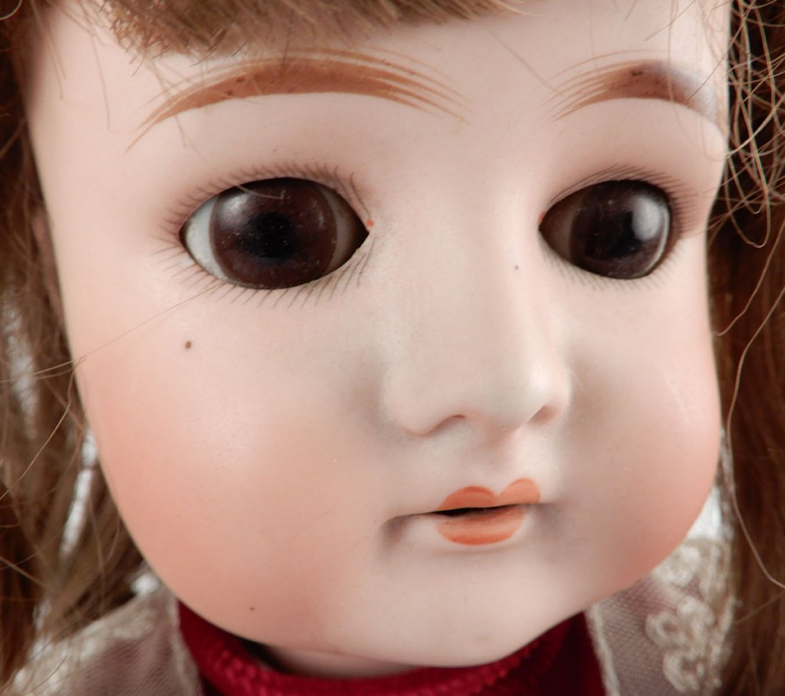 Cuno & Otto Dressel bisque socket head doll - 3