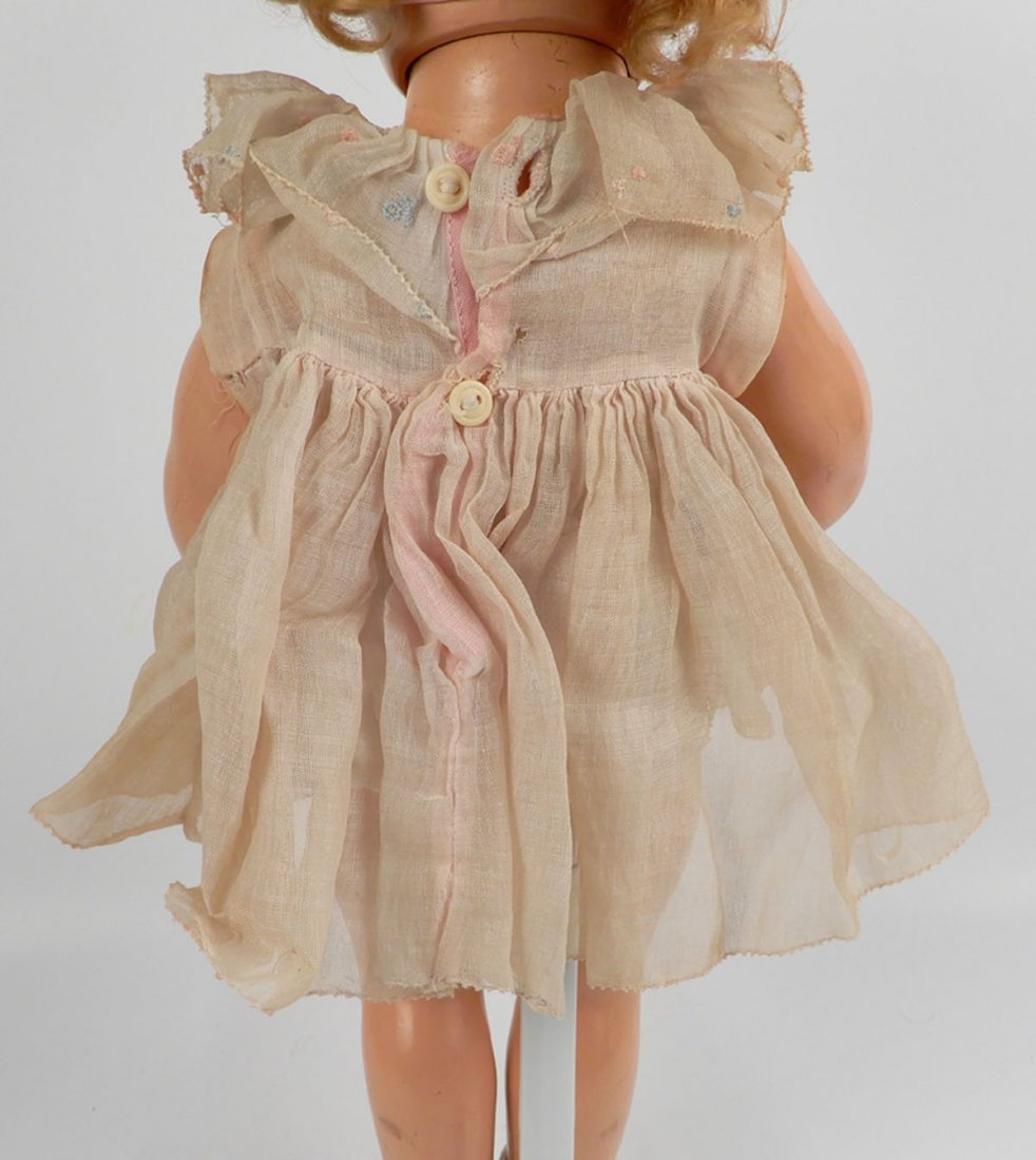 Ideal Shirley Temple composition doll - 5