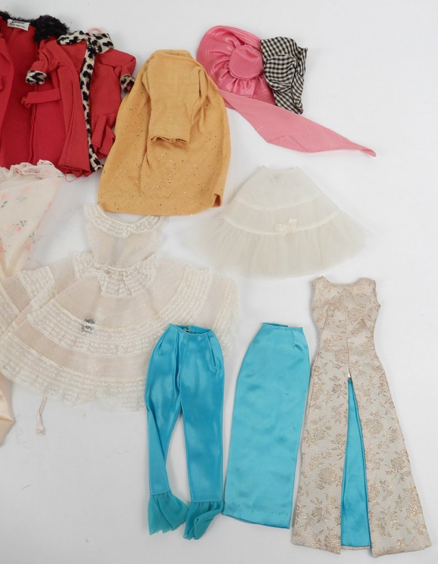 Large grouping of tagged Barbie doll outfits - 3