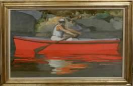 D. (Daniel) (Bennett) Schwartz oil on canvas