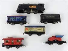 Marx Commodore Vanderbilt train set