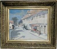 Aage Bernhardt Frederiksen oil on canvas