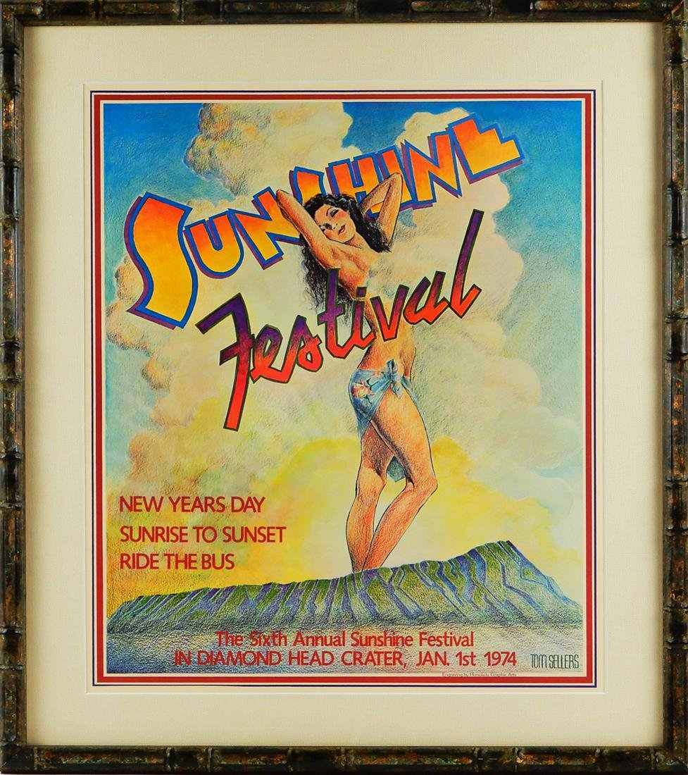 The Sixth Annual Sunshine Festival poster
