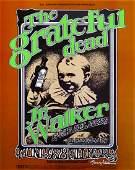 The Grateful Dead Fillmore West concert poster