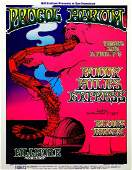 Procol Harum Fillmore West concert poster