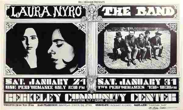 Laura Nyro/The Band Berkeley Community Theater concert