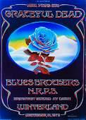"Grateful Dead ""Blue Rose"" Winterland Ballroom New"
