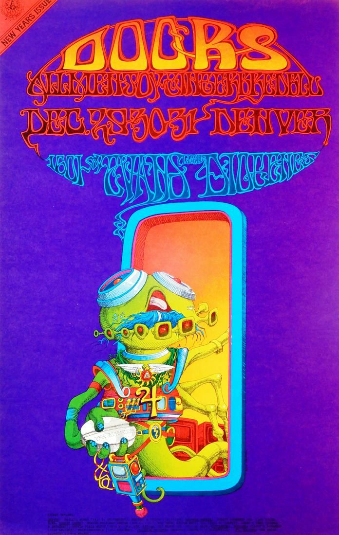 """The Doors """"Pay Attention"""" 1601 West Evans Street"""