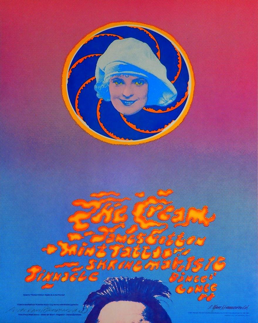 Cream Pinnacle Dance Concert Shrine Auditorium Los