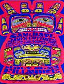 Sam  Dave Fillmore Auditorium concert poster