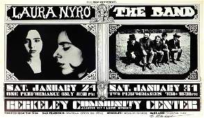 Laura Nyro  The Band Berkeley Community Theater