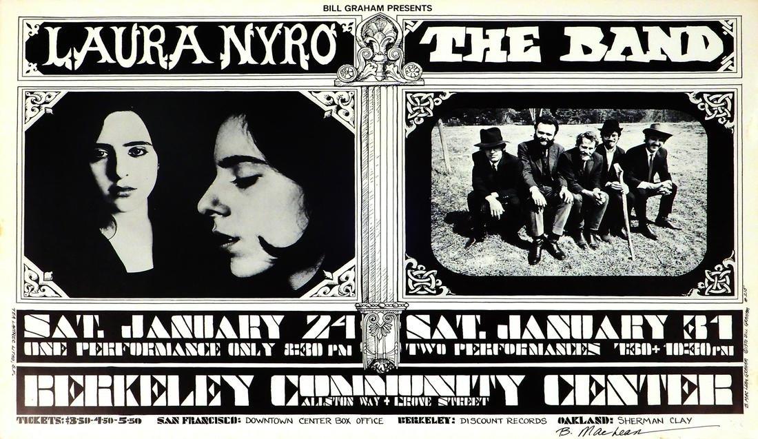 Laura Nyro & The Band Berkeley Community Theater
