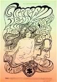 Grateful Dead Fillmore Auditorium concert poster