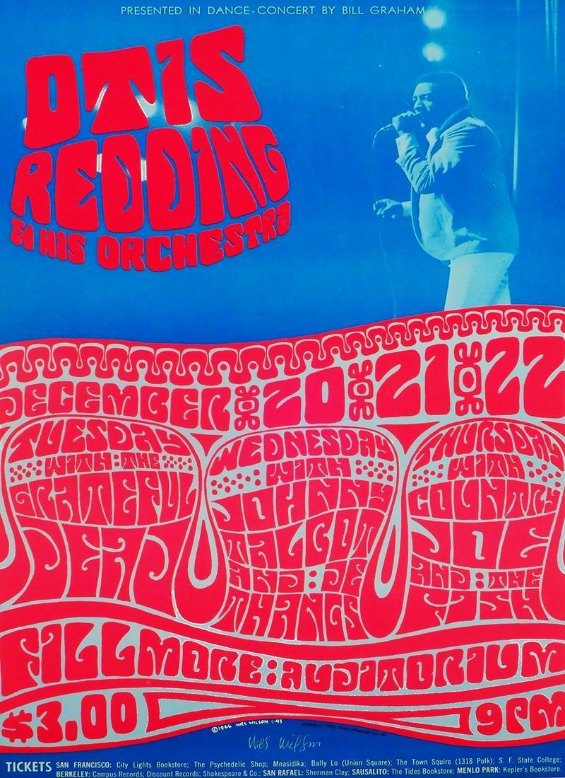 Otis Redding and His Orchestra Fillmore Auditorium