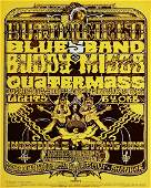 Butterfield Blues Band Fillmore West concert poster