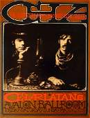 "The Charlatans ""CHA"" Avalon Ballroom concert poster"