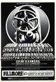 Steve Miller Band Fillmore West concert poster