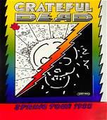 Grateful Dead Spring Tour 1988 concert poster