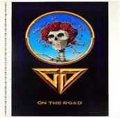 1978 Grateful Dead On The Road Tour concert poster