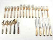 Towle sterling silver partial flatware set
