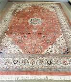 Agra hand tied fine Persian carpet