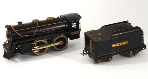 1930's Lionel Standard gauge black Bild-A locomotive