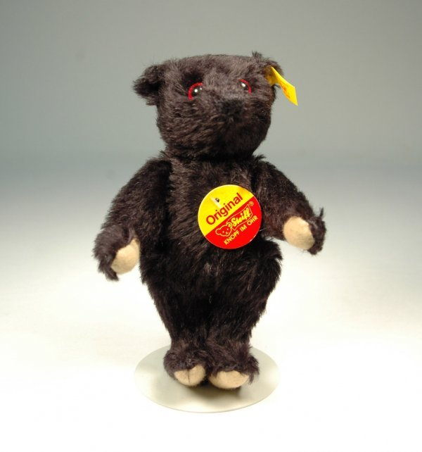 """15: Steiff bear, 6 1/2"""", jointed neck, arms and legs, b"""