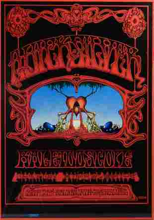 The Quicksilver Messenger Service concert poster