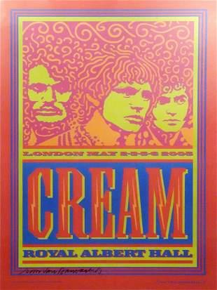 Cream Reunion concert poster