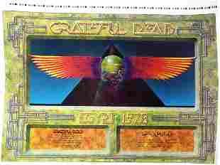The Grateful Dead concert poster