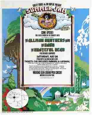 Summer Jam Music Festival concert poster