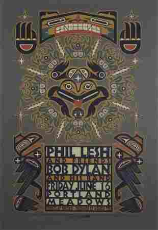 Phil Lesh and Friends concert poster