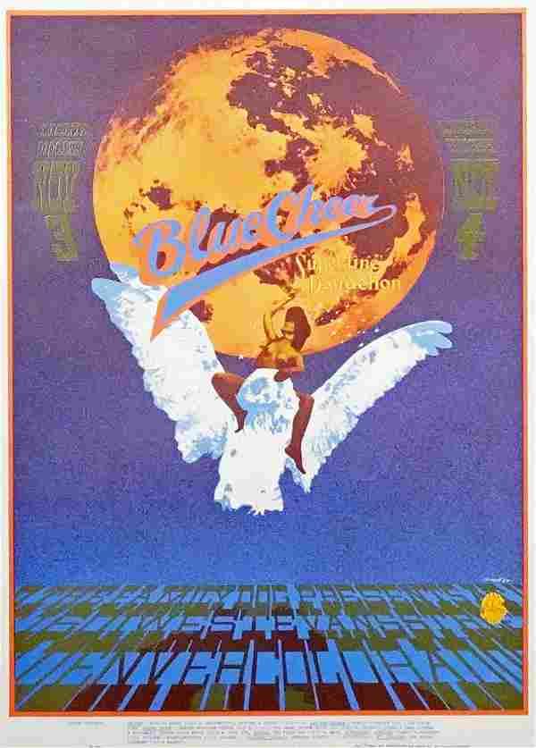 Blue Cheer concert poster