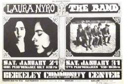 Laura Nyro concert poster