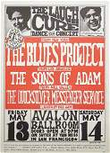 The Blues Project concert poster
