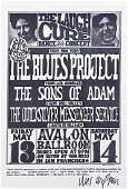 The Blues Project concert handbill