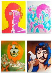 The Beatles Richard Avedon poster/print set