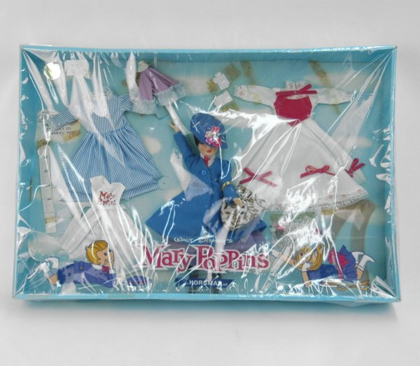 7: Horsman Mary Poppins doll gift set by Walt Disney in
