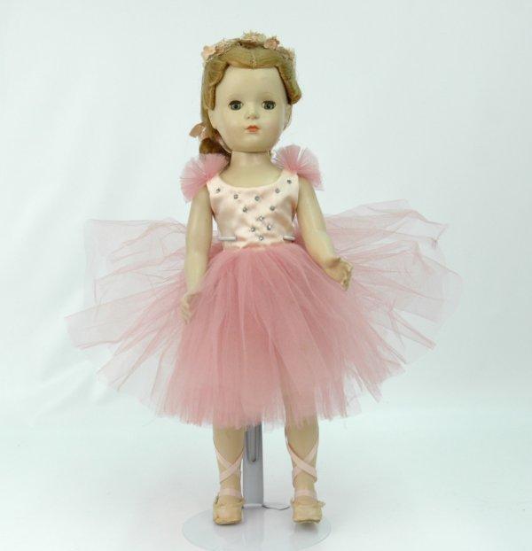 "8: Mme. Alexander 17"" Ballerina, hard plastic walker do"