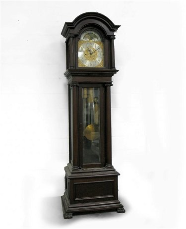 301 Bailey Banks Biddle Mahogany Tall Case Clock C Jul 24 2009 Stephenson S Auction In Pa