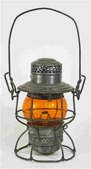 Adams and Westlake Co. railroad lantern