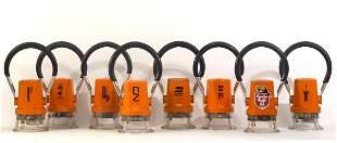 Eight Star Headlight electric railroad lanterns
