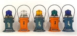 Five Star Headlight electric railroad lanterns