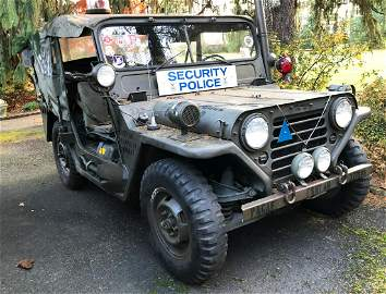 1962 M151 Military Ford MUTT