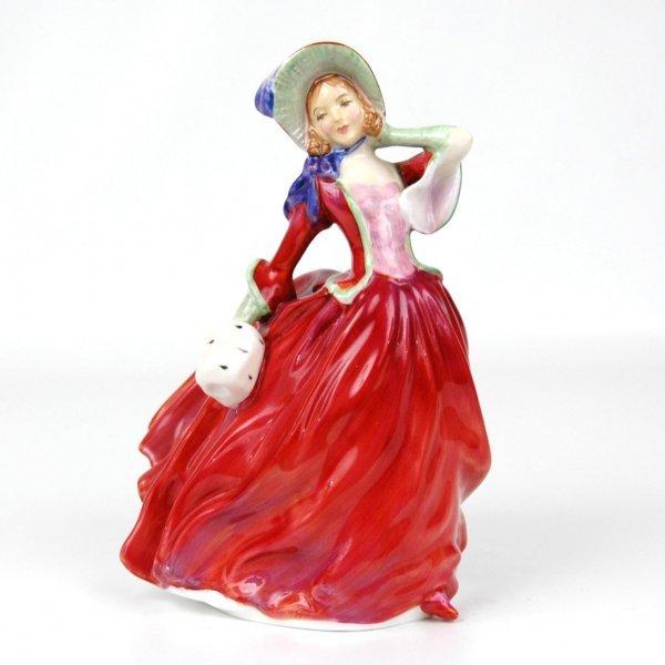 "1: Royal Doulton figurine ""Autumn Breezes"" HN 1934, app"