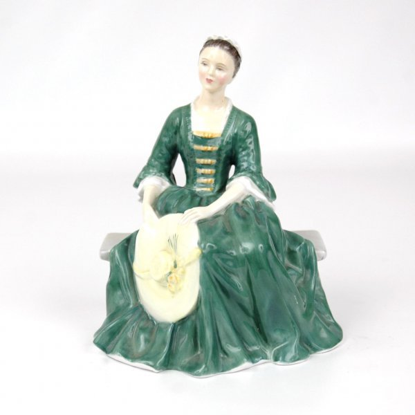 """2: Royal Doulton figurine """"A Lady from Williamsburg"""" HN"""