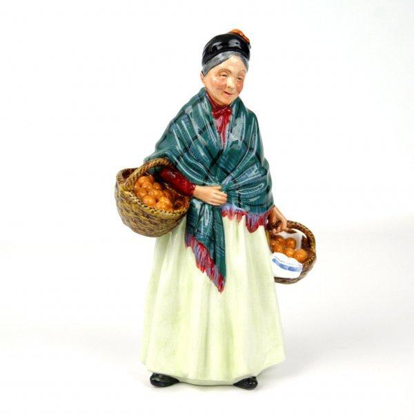 "4: Royal Doulton figurine ""the Orange Lady"" HN 1953, ap"