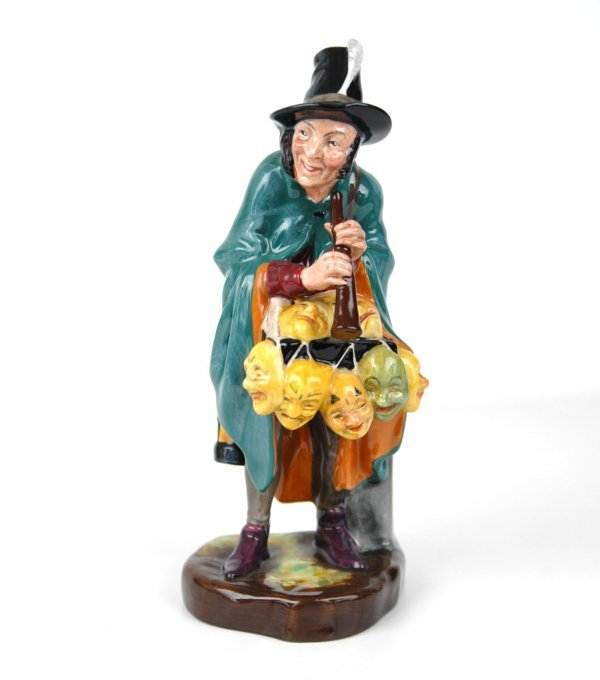 "6: Royal Doulton figurine ""The Mask Seller"" HN 2103, ap"