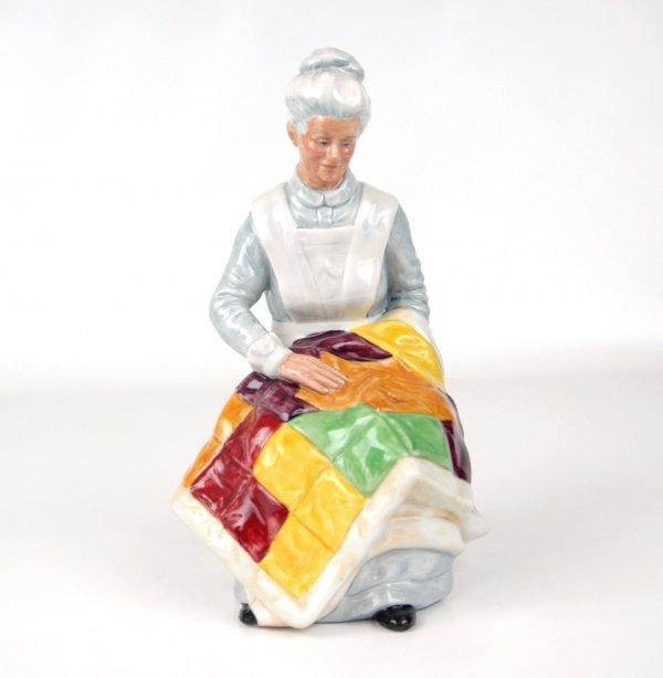 "7: Royal Doutlon figurine ""Eventide"" HN 2814, 8"" high."