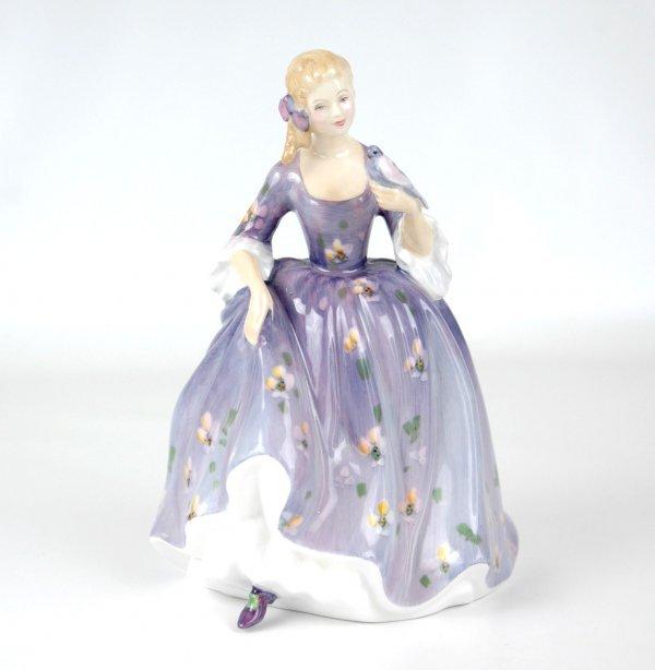 "12: Royal Doulton figurine ""Nicola"" HN 2839, 7 1/2"" hig"